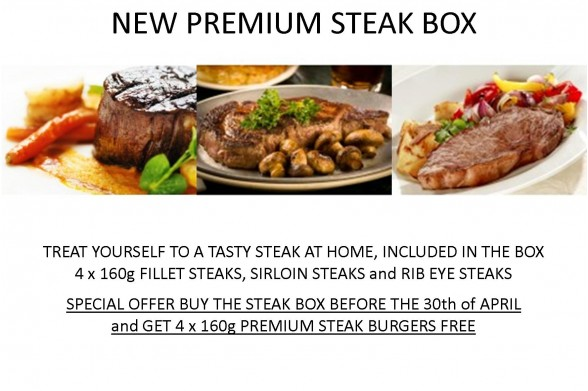 Premium steak box