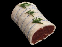 Boneless Rolled Saddle Of Lamb